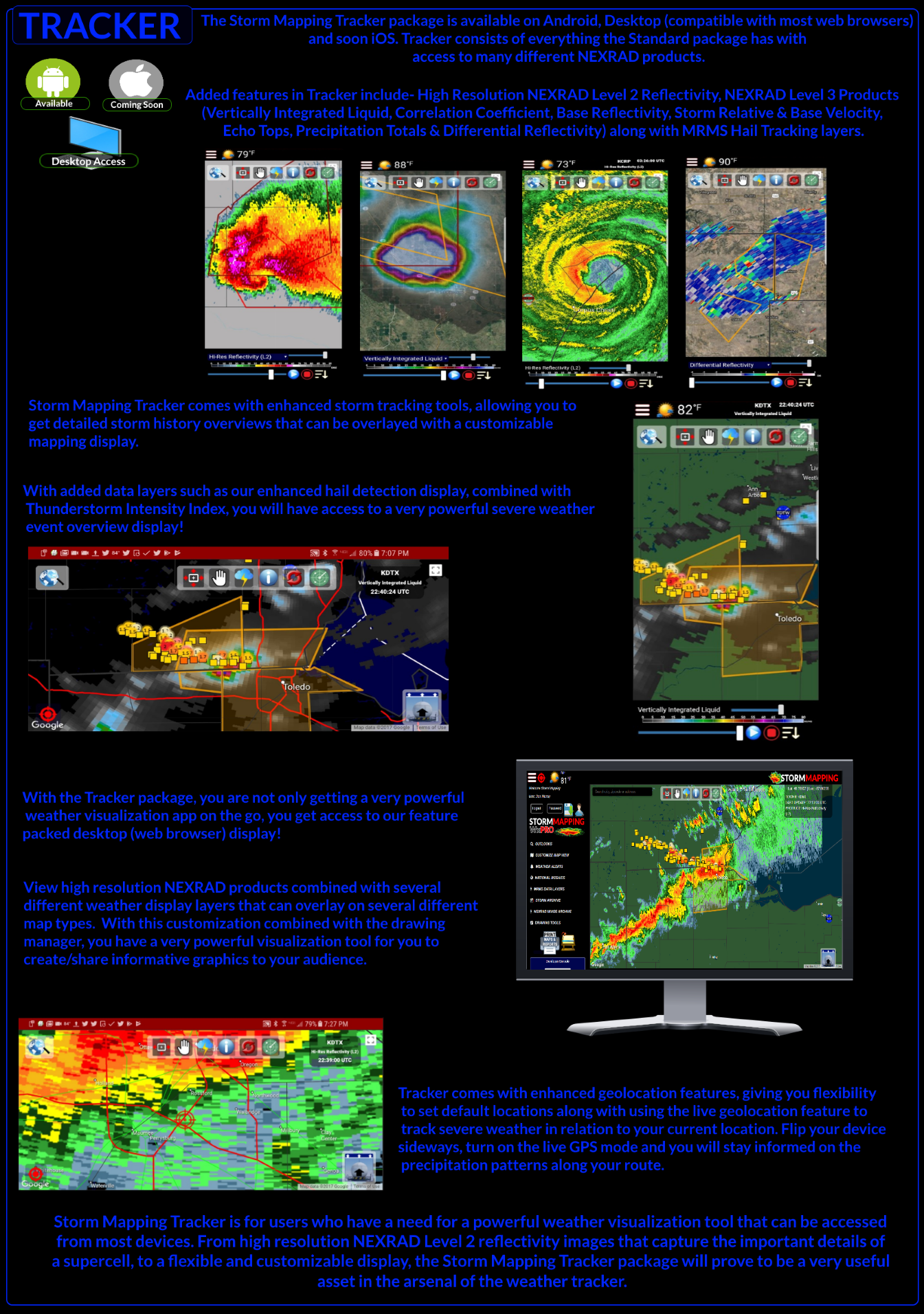 Storm Mapping - Powered by SDS Weather